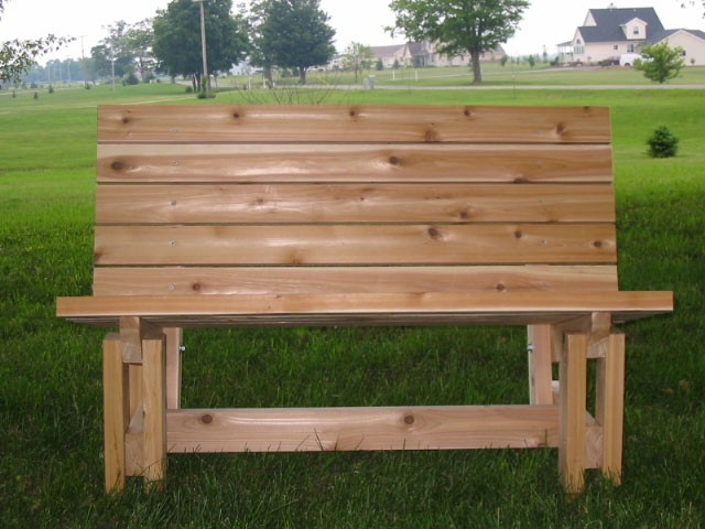 Woodworking How to build a garden bench